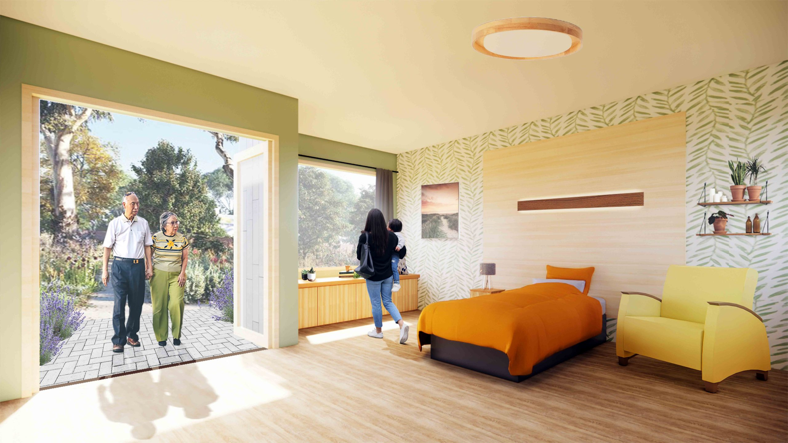 Bedroom KayBlair Hospice